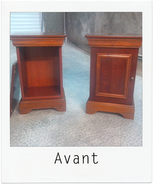 tables de chevet ANNE-MARIE 1