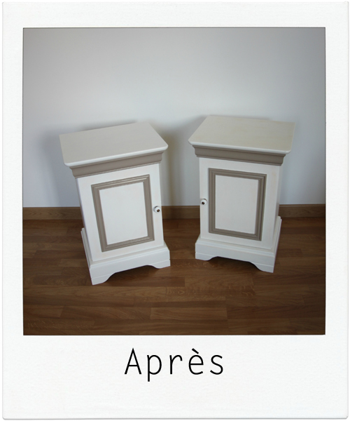 tables de chevet ANNE-MARIE 2