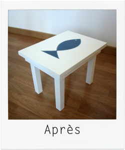 table enfant LITTLE FISH 2