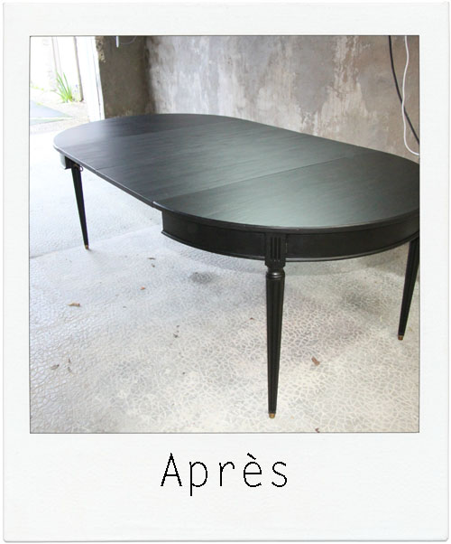 table ALL BLACK 2